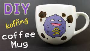 how to paint on a mug permanently koffing coffee mug