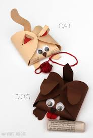 turn a simple free printable gift box into these fun dog and cat