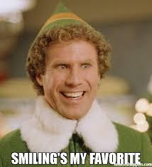 Favorite Meme - smiling s my favorite meme buddy the elf 38400 memeshappen