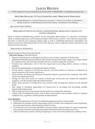 Help Desk Manager Resume Call Center Resume Examples Resume Professional Writers