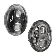 jeep black headlights j w speaker 8700 evolution j series led jeep headlights aps