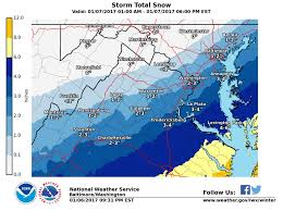 Map Of Northern Virginia Northern Virginia Weather Up To 3 Inches Of Snow Predicted