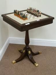 Height Of End Table by Franklin Mint U0027the Raj U0027 Chess Set And Table Height Of Table 68cm