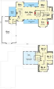 100 open concept farmhouse plan best 25 simple house plans floor
