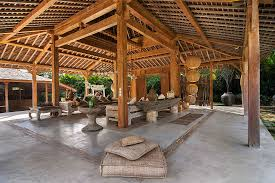 outside sitting area bali blue karma resort
