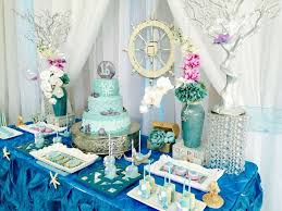 the sea party ideas the sea quinceañera party ideas dessert table sweet 16 and