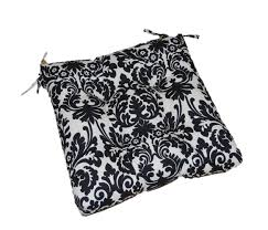 exciting black and white kitchen chair cushions 16 for your office