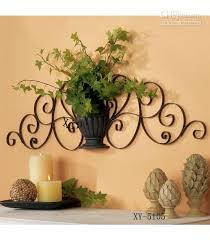 home decoration items home decor metal wall decor iron plant holder metal walls wall