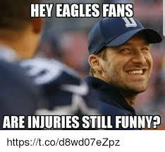 Philadelphia Eagle Memes - hey eagles fans are injuries still funny httpstcod8wd07ezpz