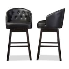 Black Swivel Bar Stool Bar Stools Bar Furniture Affordable Modern Design Baxton