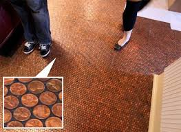 Copper Projects A Luxurious Copper Floor For Pennies And 7 Other Penny Decor
