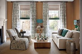 Light Linen Curtains Roman Blind Paired With Light Linen Curtains Design Ideas For