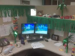 Cubicle Decoration Themes Summer Cubicle Fun U2013 Aloha Broesph Nickroshon Com