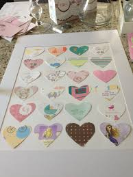 diy transform your baby shower cards into nursery art