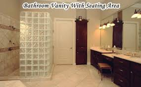 Bathroom Vanities With Sitting Area by Remarkable Bathroom Vanity With Seating Area And Bathroom Vanity