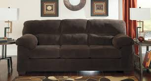 Benchcraft Leather Sofa by Zorah Chocolate Sofa Benchcraft Furniture Cart