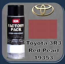 sem 19353 sem factory pack basecoat toyota paint code 3r3