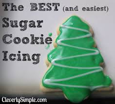 how to make the best and easiest sugar cookie icing glaze