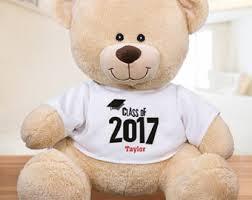 personalized graduation teddy graduation etsy