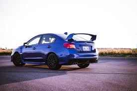 blue subaru wrx review 2017 subaru wrx sti sport canadian auto review