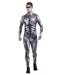 ladies halloween tights male robot halloween costume