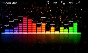 audio glow music visualizer various themes and customisations 4
