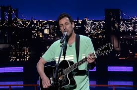 adam sandler david letterman tribute song is completely