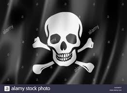 Picture Of A Pirate Flag Pirate Flag Jolly Roger Three Dimensional Render Satin Texture