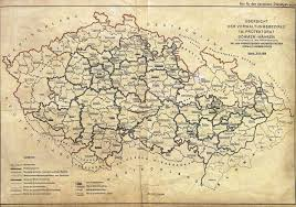 A New Map Of Jewish by The German Occupationo Of The Sudetenland U0026 Bohemia Moravia