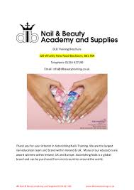 astonishing nails 4 day begginers nail course