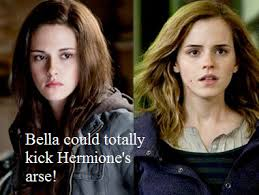 harry potter twilight images bella beat hermione