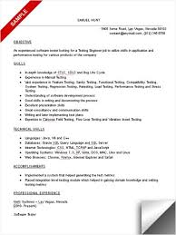 Headline Resume Examples by Software Tester Resume Sample Resume Sample