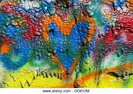 painted colors heart stock photo royalty free image 81586438 alamy