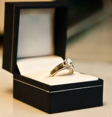 wedding ring in a box new a diamond ring in a box jewellry s website