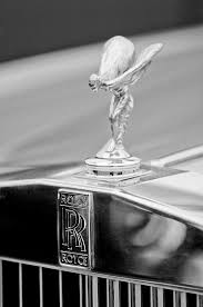 1984 rolls royce silver spur ornament photograph by reger
