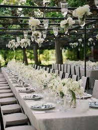 black and white wedding ideas classic wedding classic white reception table 2058443 weddbook
