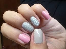 nail art design glitter polka dot love youtube