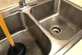 easy way to unclog a kitchen sink kitchen modern blocked kitchen sink intended how to unclog