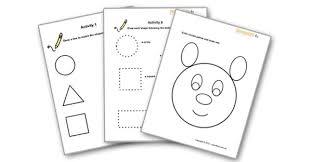 14 best images of preschool worksheets age 3 learning worksheets