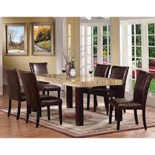 Acme Dining Room Furniture Acme Furniture Fraser 7 Piece Rectangular Dining Table Set Hayneedle