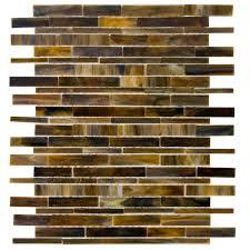 shop elida ceramica tortis seashell linear mosaic glass wall tile