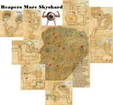 Eso Skyshards Map Aldmery Skyshards