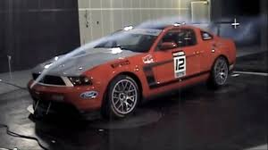 ford mustang 302 s ford racing tests the mustang 302s in the wind tunnel