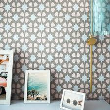 marlin wall stencil modern interior decor wall stencil wall
