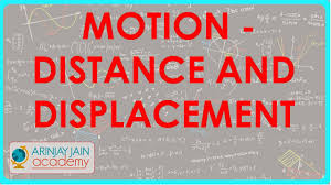 distance and displacement motion physics class 9 ix isce