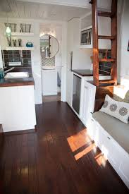 a 180 square lofted tiny house on wheels in omaha nebraska