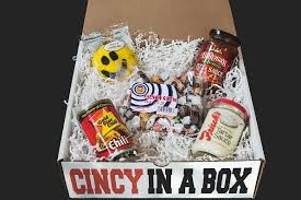 cincinnati gift baskets 5 item cincy in a box cincy in a box