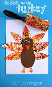 wrap printed turkey craft for turkey craft