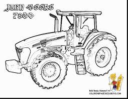 fabulous john deere tractor coloring pages printable with tractor