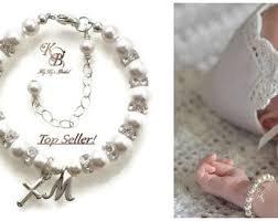 baby jewelry baptism 35 best baby bracelet images on baby bracelet baby